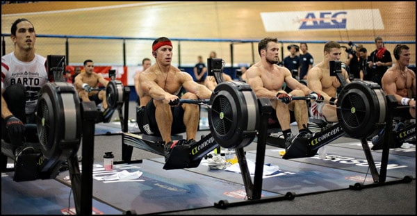Challenged by the Concept2 Holiday Rowing Challenge