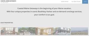 Coastal Maine Getaways homepage II
