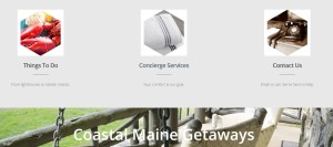 Coastal Maine Getaways homepage IV