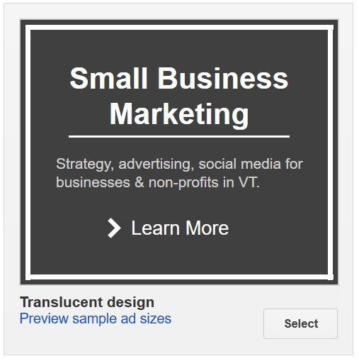 Google AdWords Starter Ad